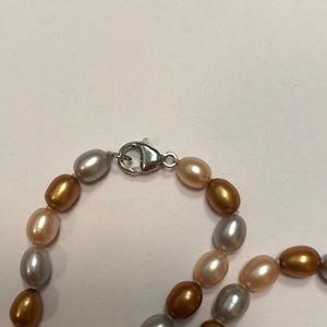 Freshwater Pearls Jewelry - Freshwater Pearl Necklace Multi Colored
